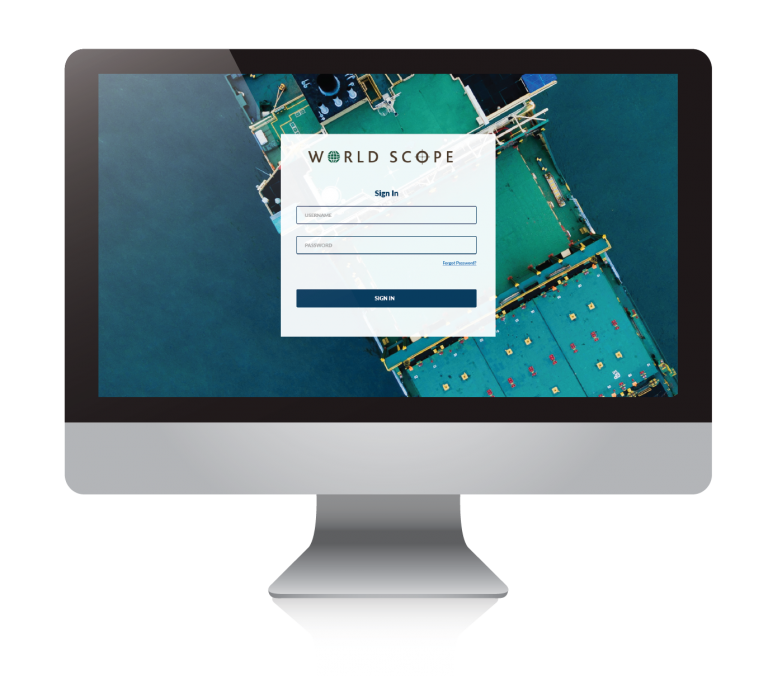 Login to WorldScope 2.0