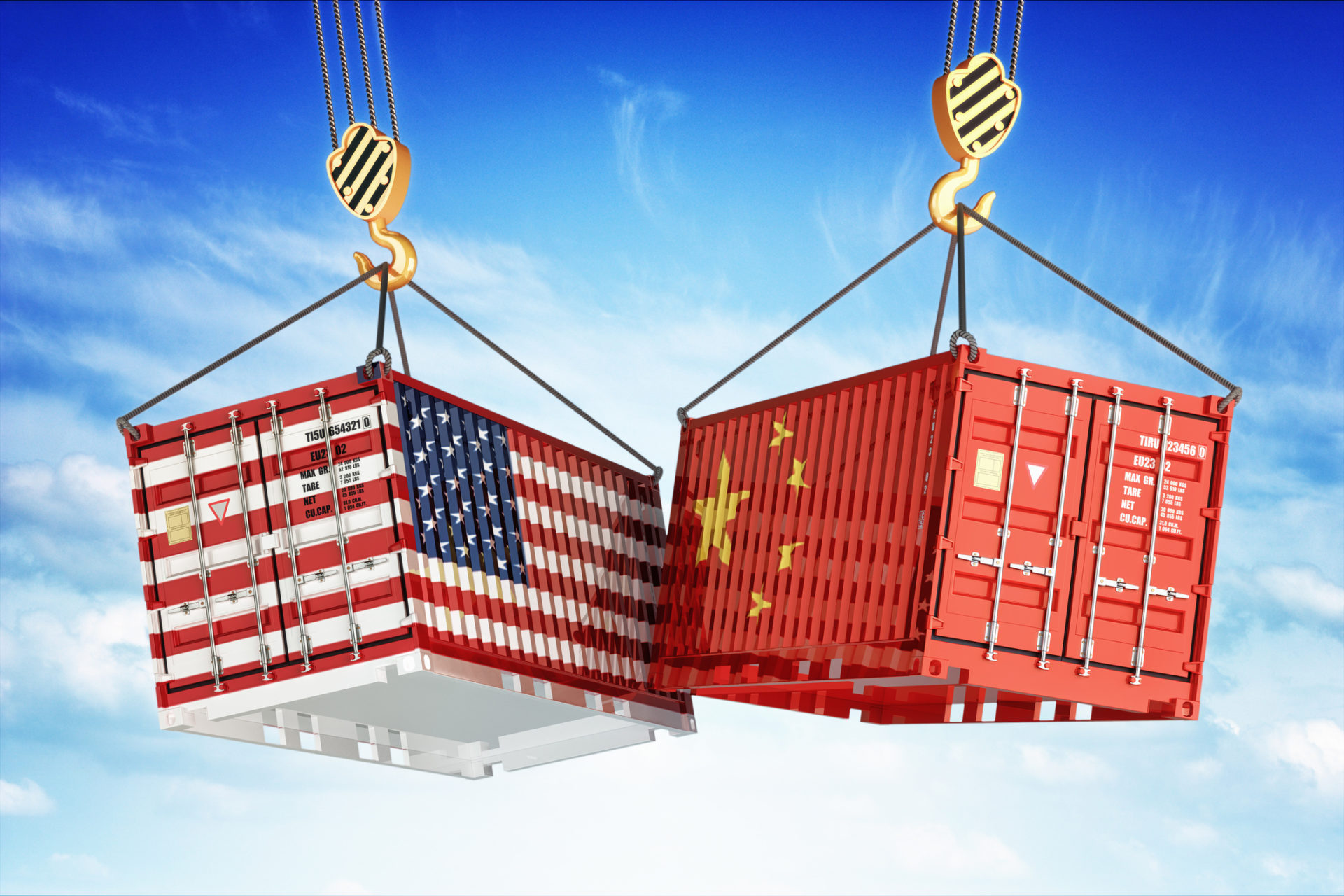 United States And China Trade War Tariff Showdown Uwl