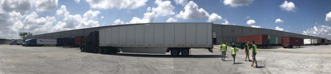 UWL Supply Chain Award Winners tour WDS Savannah Warehouse