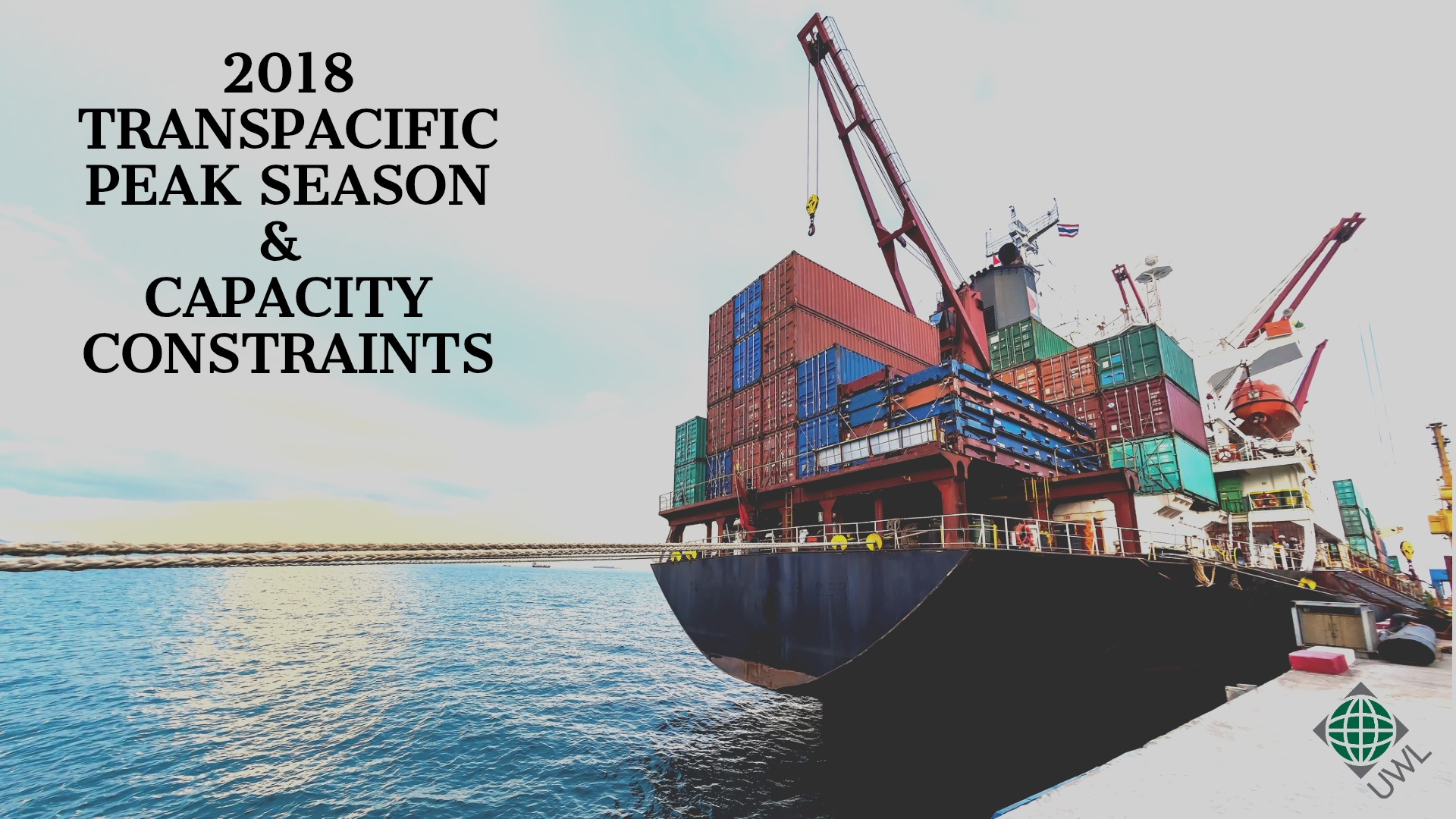 2018 Transpacific peak season capacity constraints